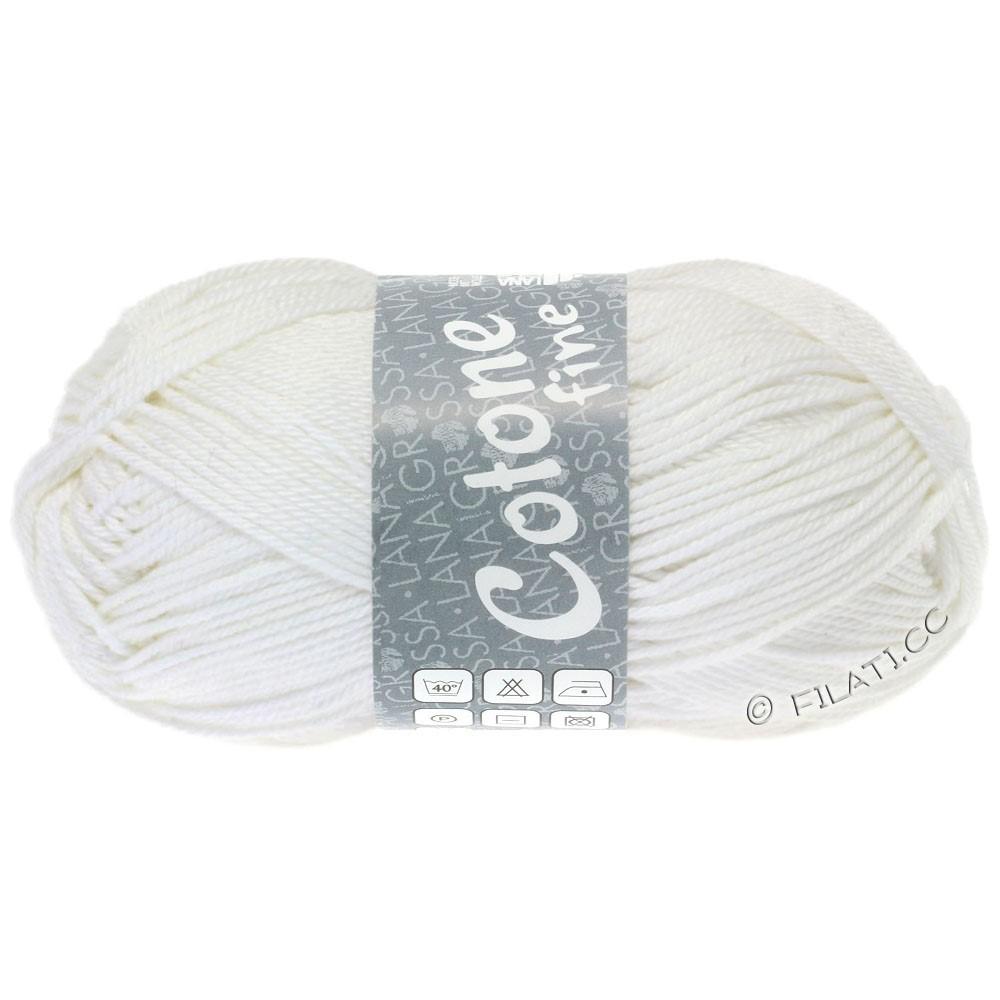 COTONE FINE - von Lana Grossa | 622-Weiß