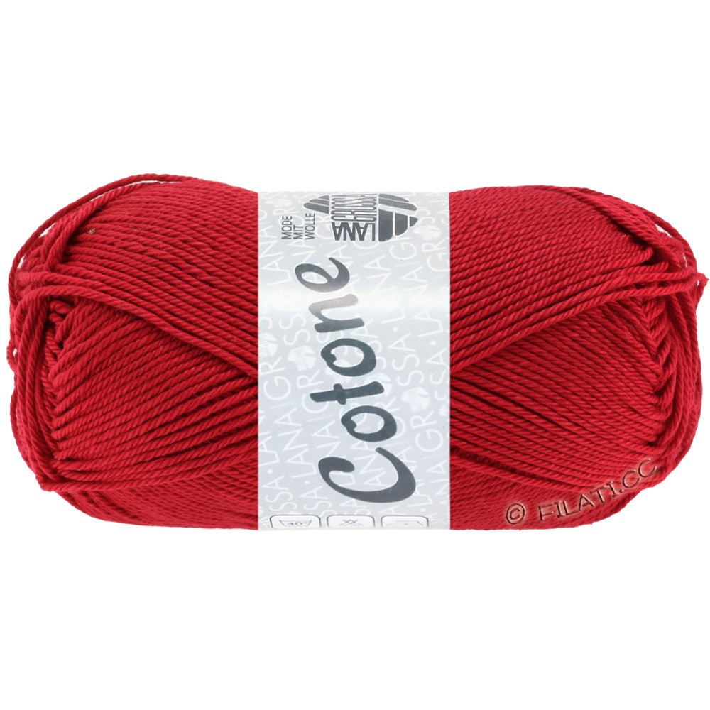 COTONE - von Lana Grossa | 18-Rot