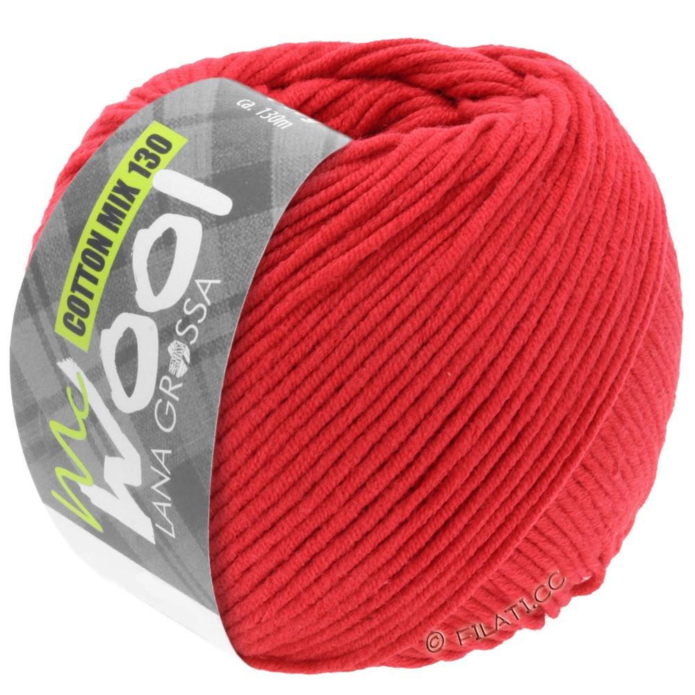 COTTON MIX 130 (McWool) - von Lana Grossa | 103-Rot
