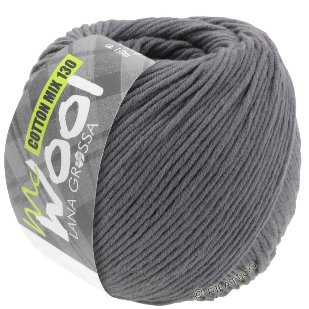 COTTON MIX 130 (McWool) - von Lana Grossa | 115-Dunkelgrau