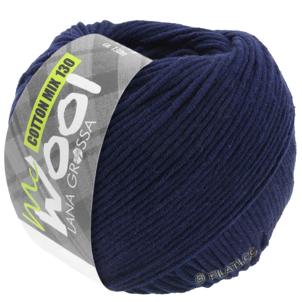 COTTON MIX 130 (McWool) - von Lana Grossa | 117-Nachtblau