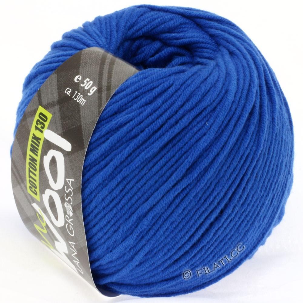 COTTON MIX 130 (McWool) - von Lana Grossa | 122-Kobaltblau