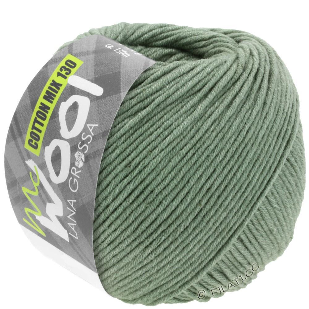 COTTON MIX 130 (McWool) - von Lana Grossa | 129-Graugrün