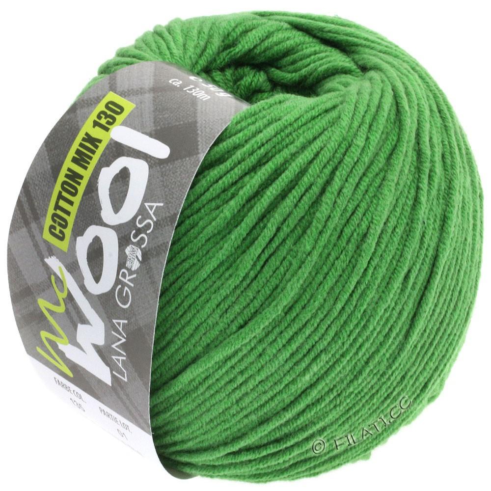 COTTON MIX 130 (McWool) - von Lana Grossa | 135-Grasgrün