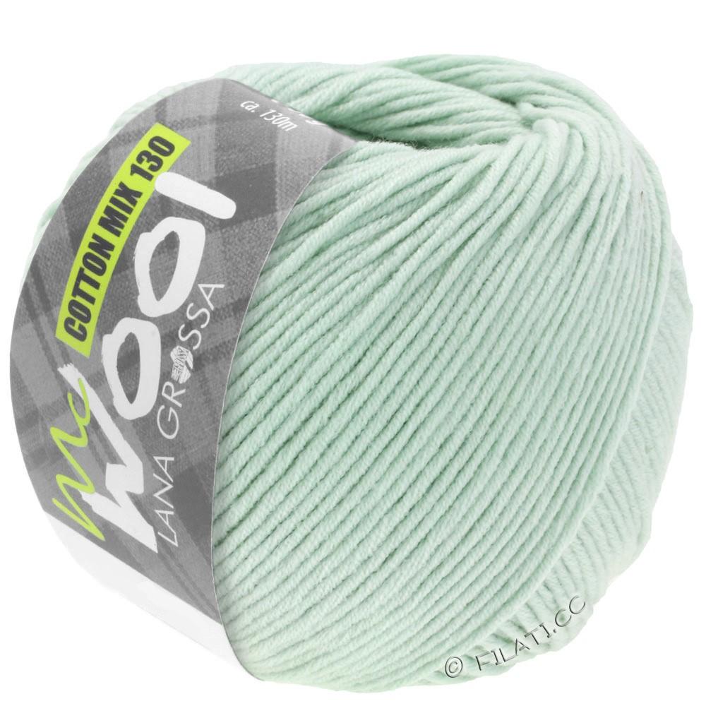 COTTON MIX 130 (McWool) - von Lana Grossa | 136-Zartgrün