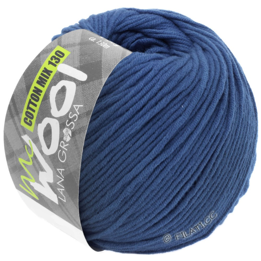 COTTON MIX 130 (McWool) - von Lana Grossa | 138-Royal