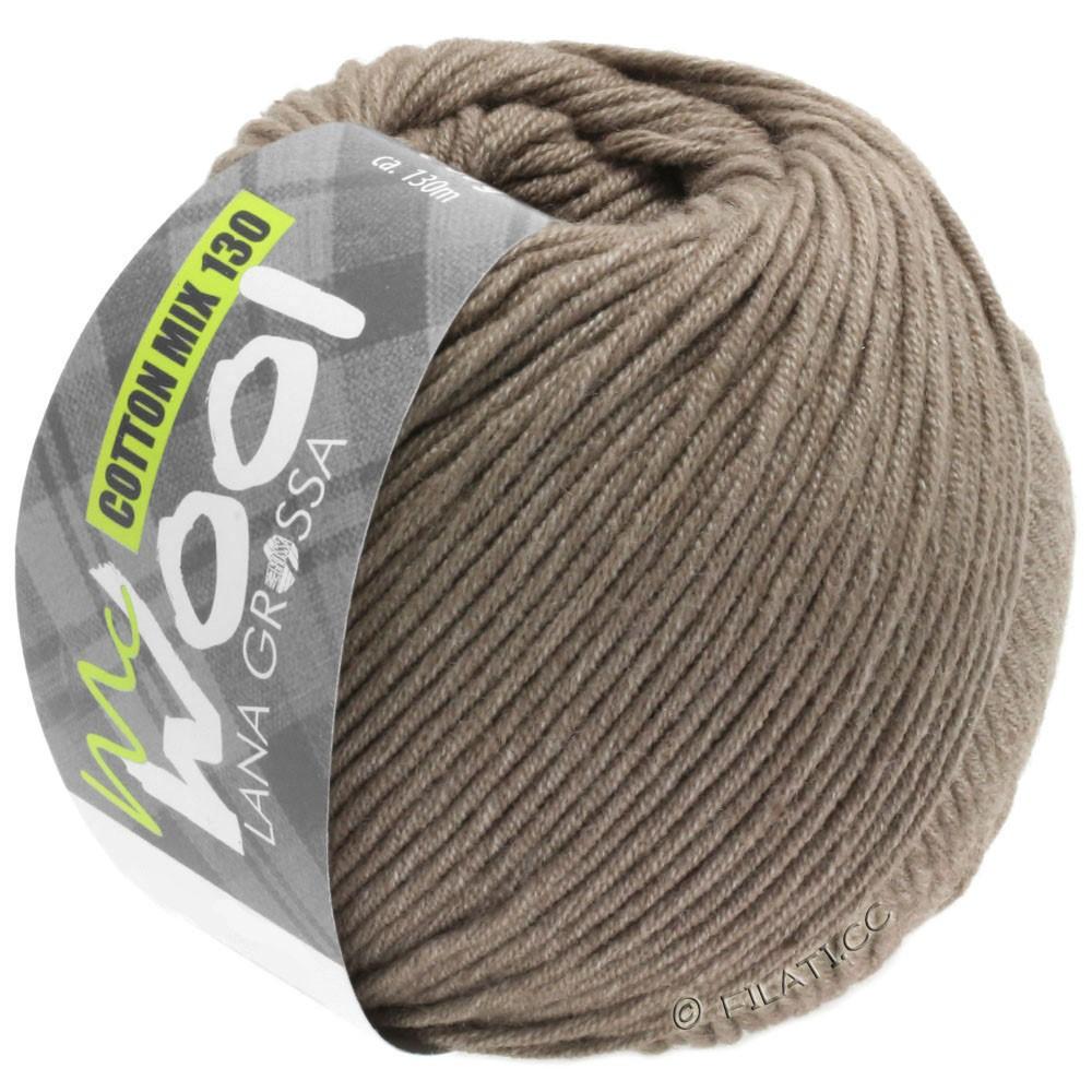 COTTON MIX 130 (McWool) - von Lana Grossa | 144-Beigebraun