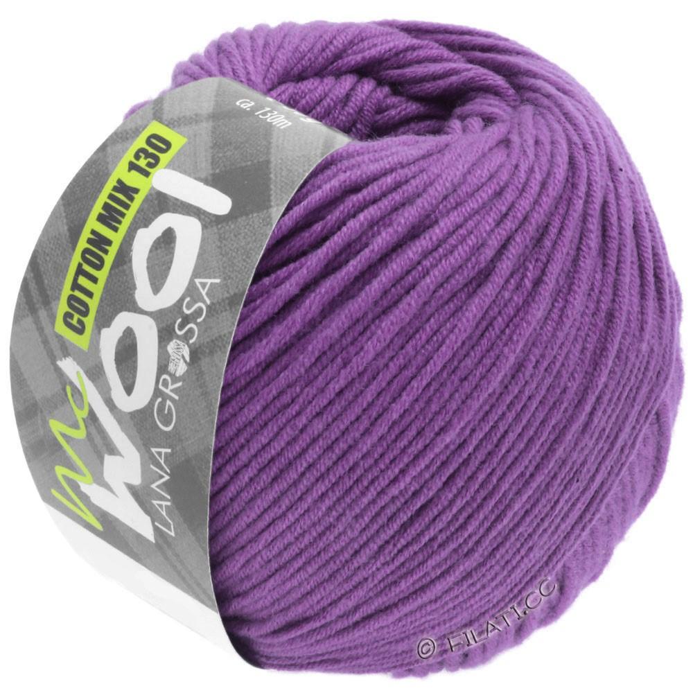 COTTON MIX 130 (McWool) - von Lana Grossa | 147-Violett