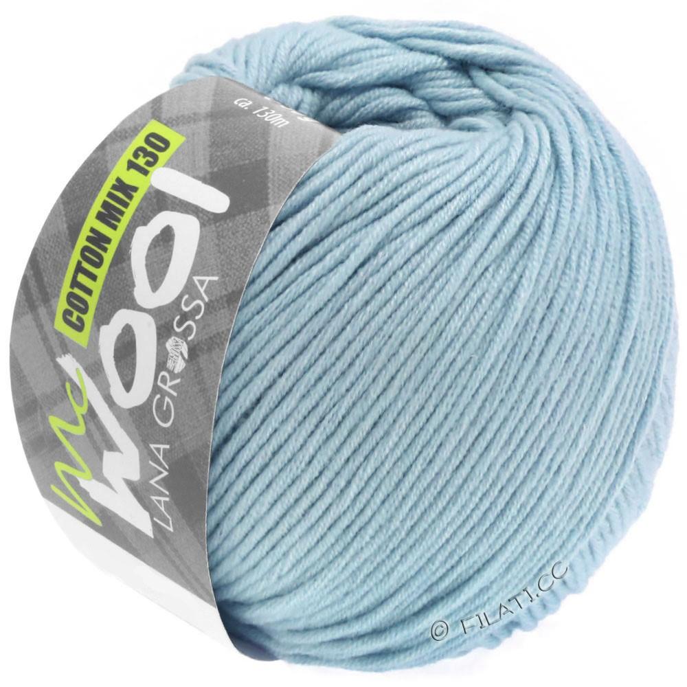 COTTON MIX 130 (McWool) - von Lana Grossa | 150-Hellblau