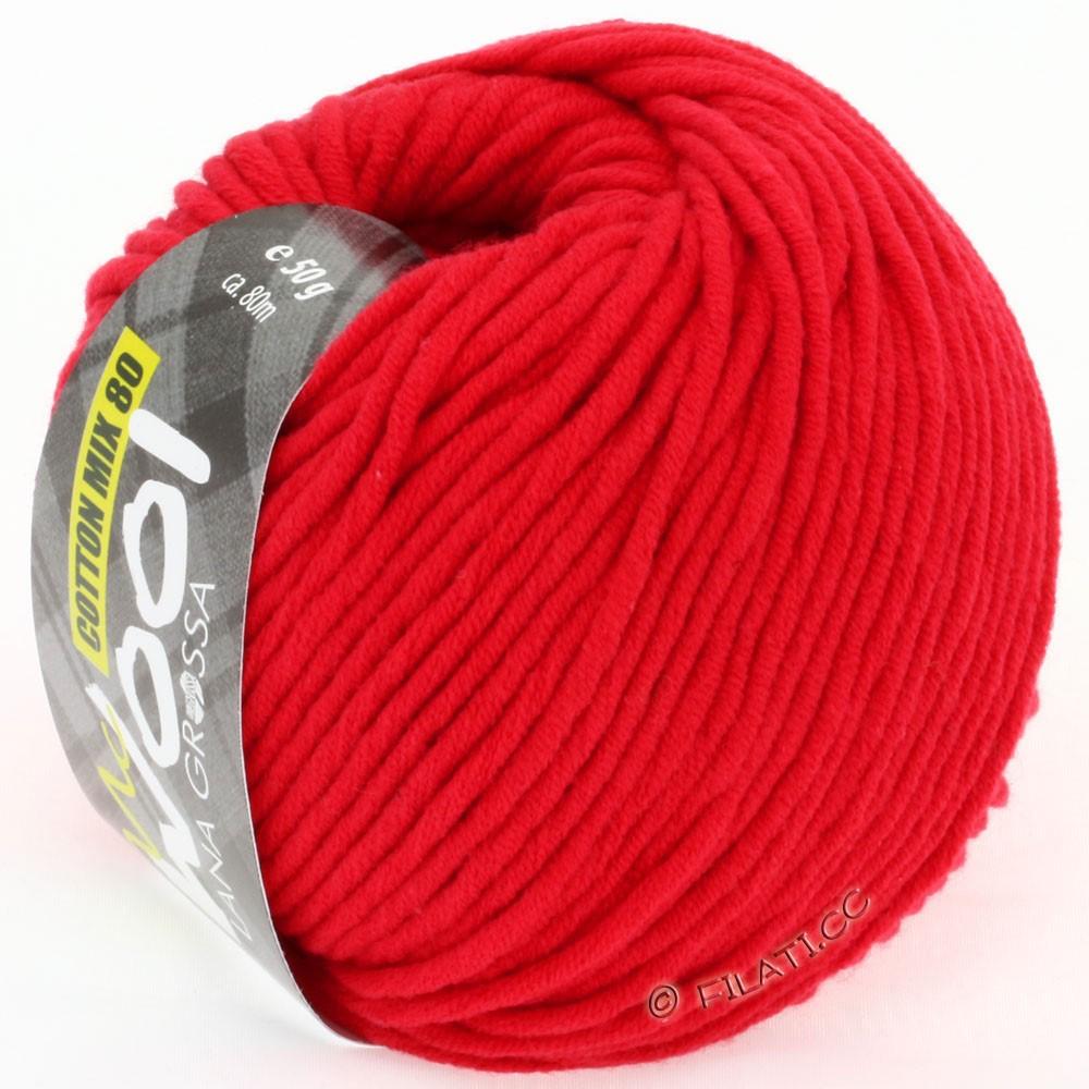 COTTON MIX 80 (McWool) - von Lana Grossa | 503-Rot