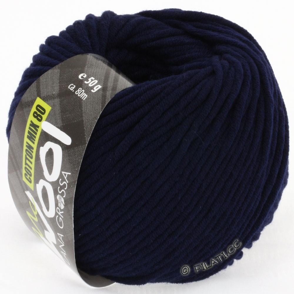 COTTON MIX 80 (McWool) - von Lana Grossa | 517-Nachtblau