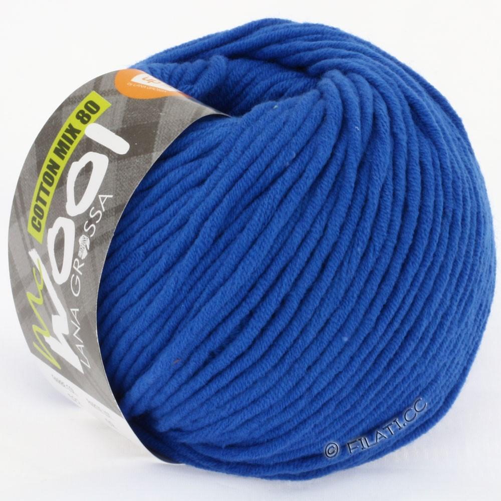 COTTON MIX 80 (McWool) - von Lana Grossa | 522-Kobaltblau