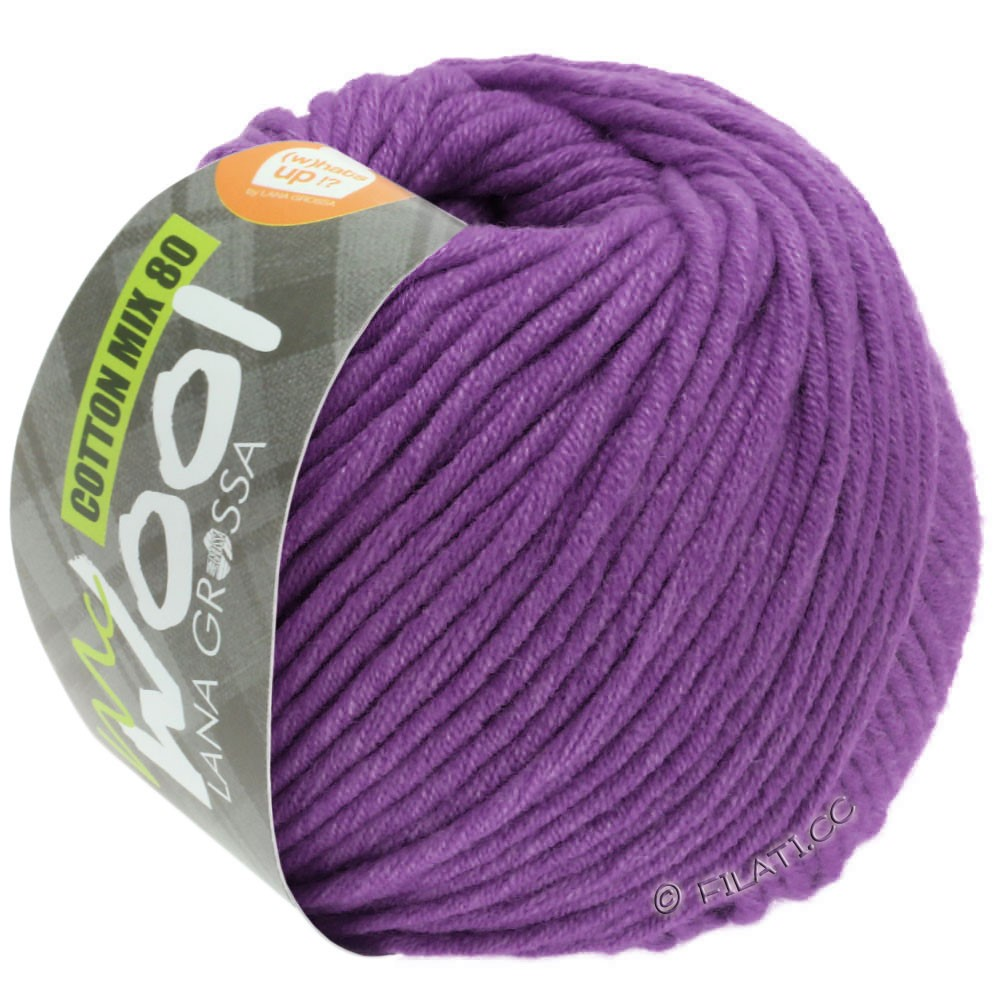 COTTON MIX 80 (McWool) - von Lana Grossa | 547-Violett