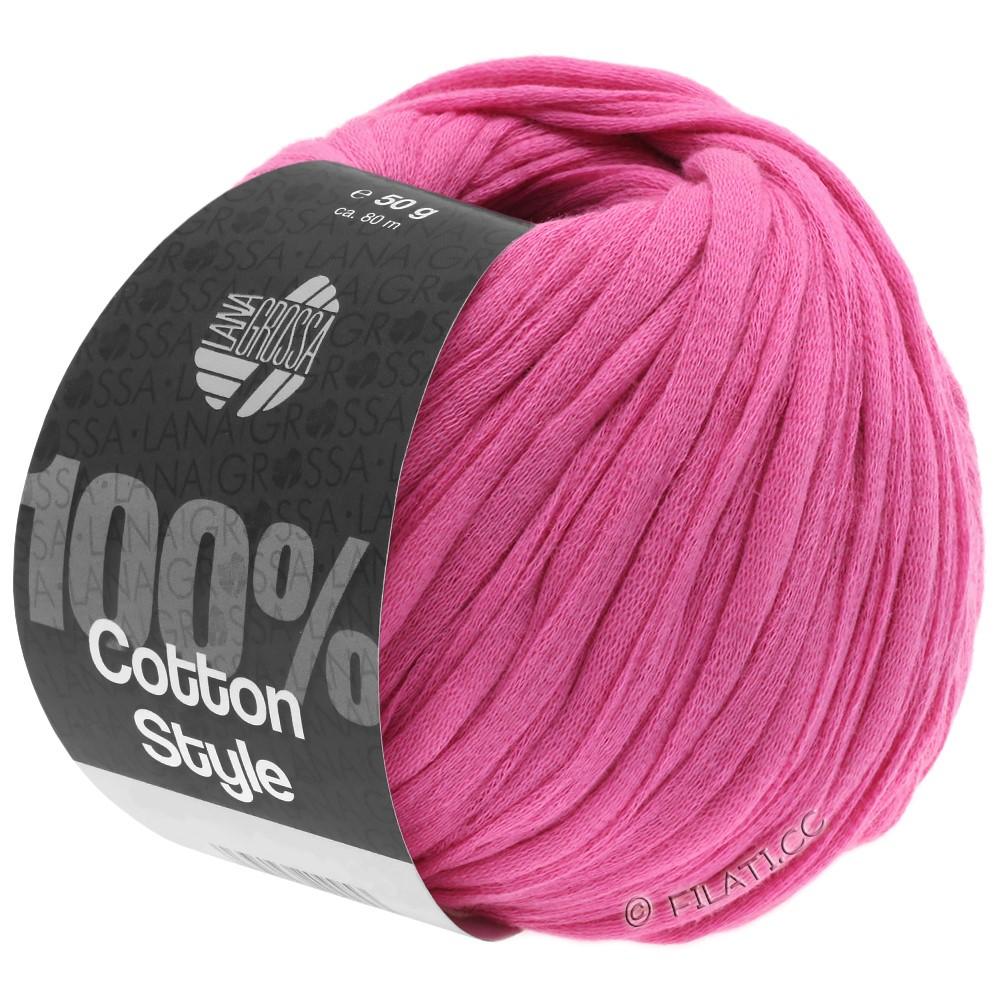 COTTON STYLE - von Lana Grossa | 09-Pink