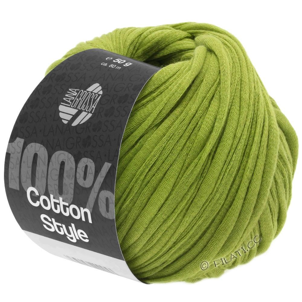 COTTON STYLE - von Lana Grossa | 10-Gelbgrün
