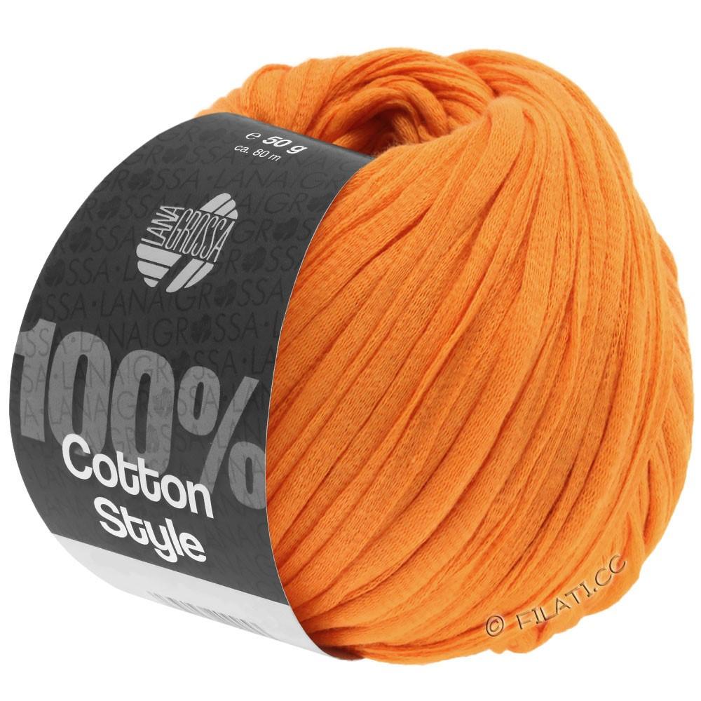 COTTON STYLE - von Lana Grossa | 16-Orange