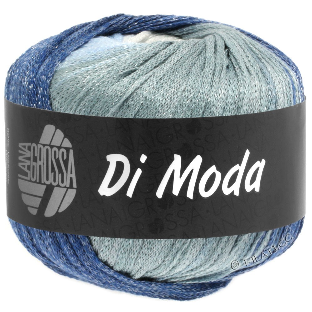 DI MODA - von Lana Grossa | 01-Weiß/Hellblau/Hellgrau/Jeans