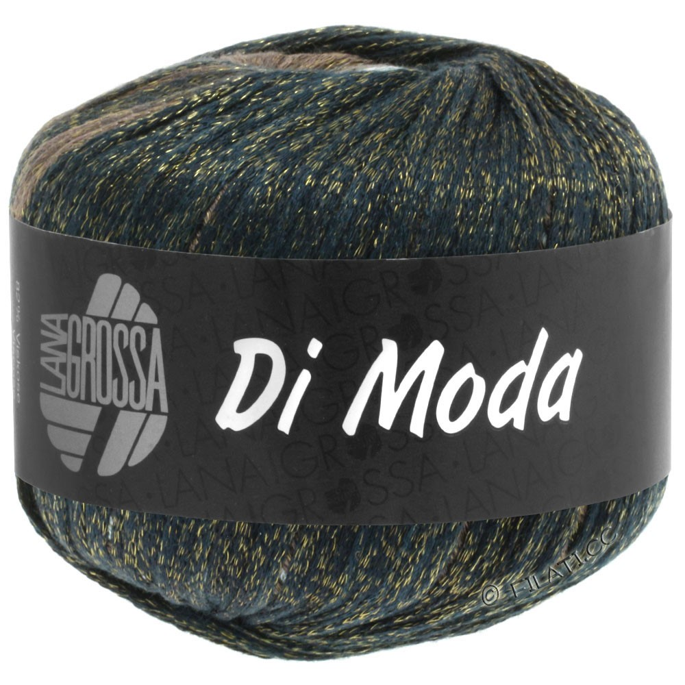 DI MODA - von Lana Grossa | 08-Grüngrau/Graublau/Jeans/Nussbraun/Mokka