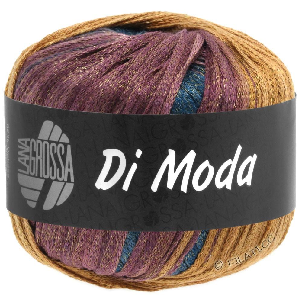 DI MODA - von Lana Grossa | 13-Khaki/Ocker/Bordeaux/Schwarzgrün