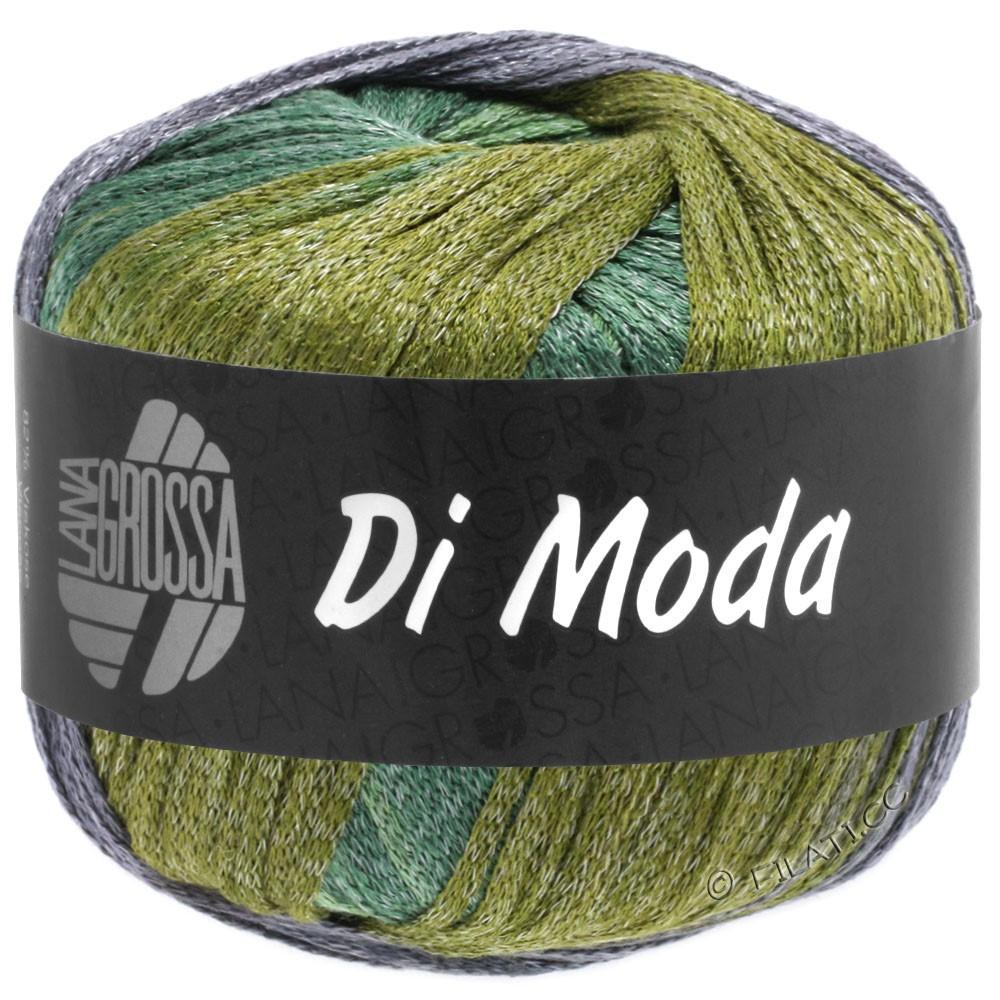 DI MODA - von Lana Grossa | 18-Oliv/Antikviolett/Dunkelgrün/Mittelgrün