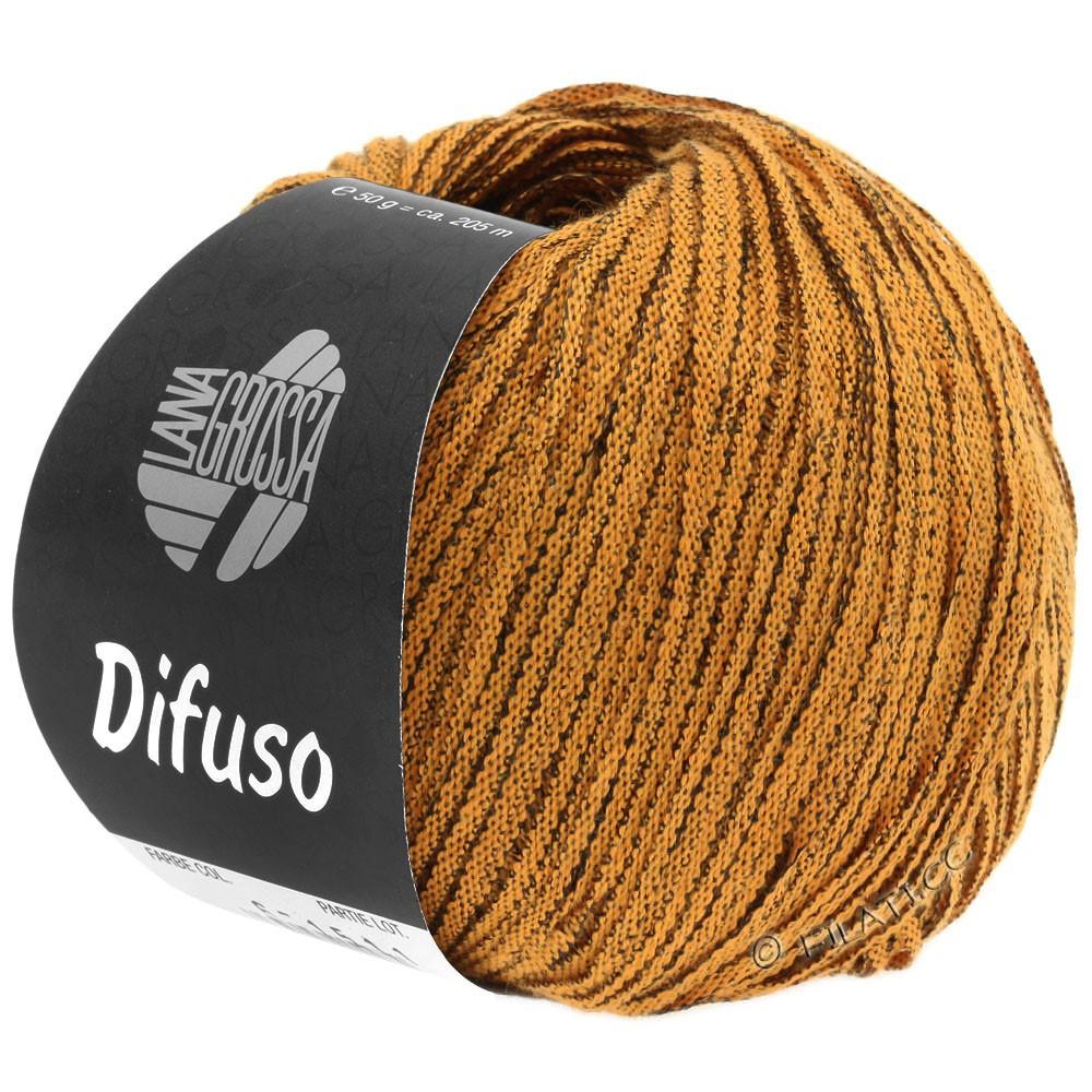 DIFUSO - von Lana Grossa | 02-Orange/Schwarz