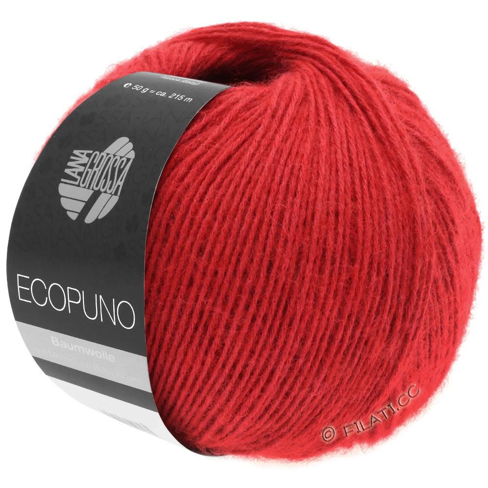 ECOPUNO - von Lana Grossa | 06-Rot