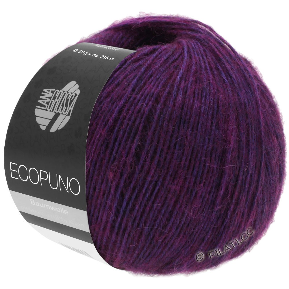 ECOPUNO - von Lana Grossa | 23-Rotviolett