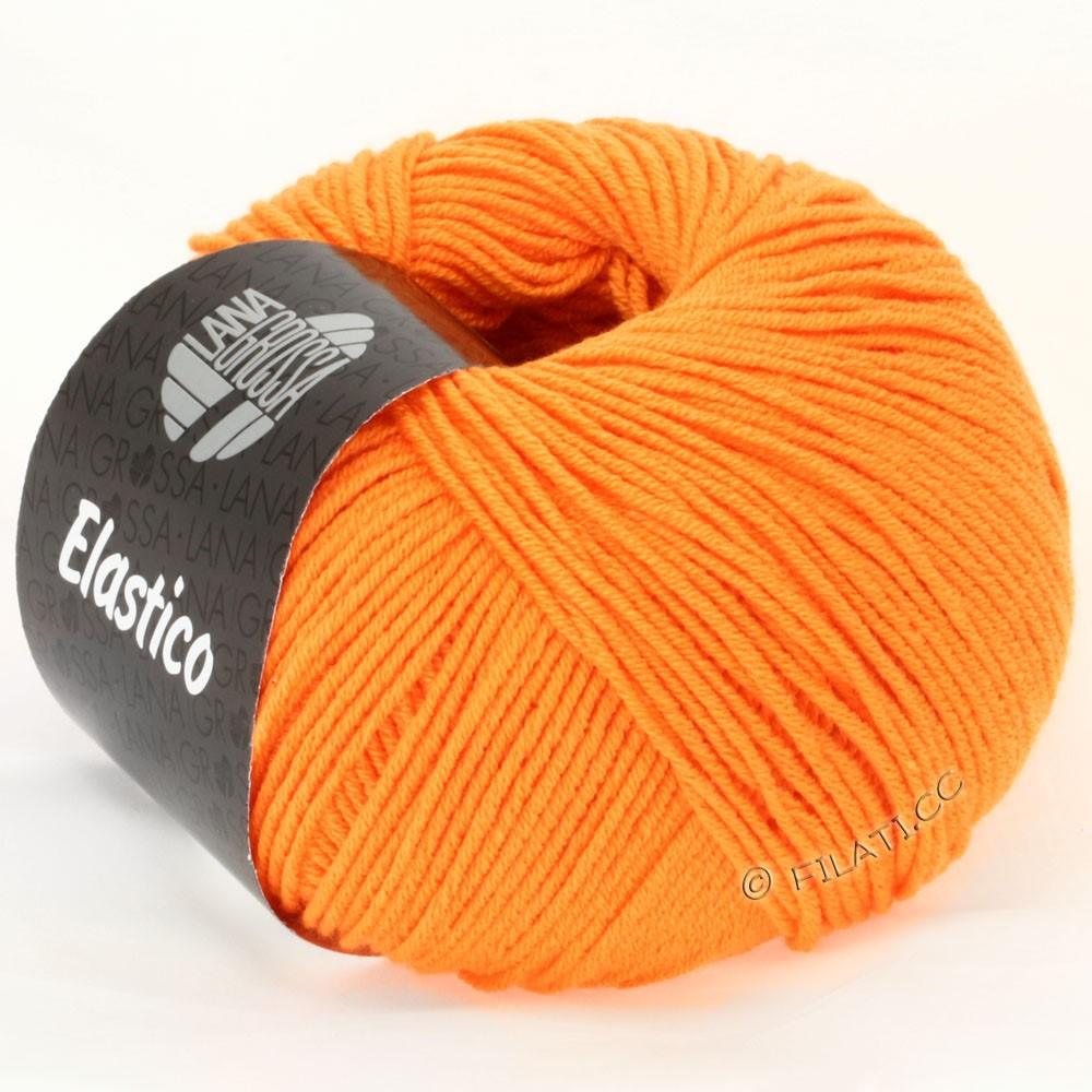 ELASTICO Uni/Print - von Lana Grossa | 111-Orange