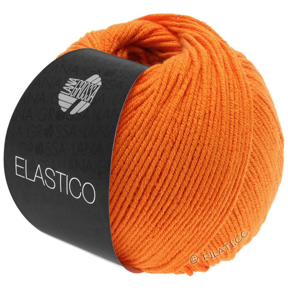ELASTICO  Uni/Print - von Lana Grossa | 145-Orange