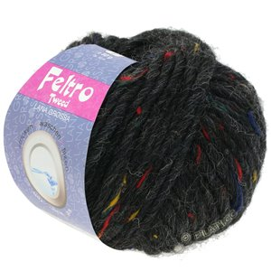 FELTRO Tweed - von Lana Grossa | 658-Anthrazit