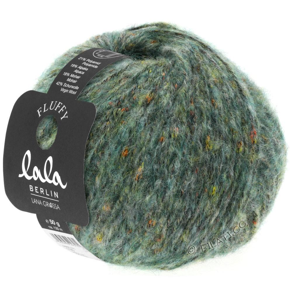 FLUFFY (lala BERLIN) - von Lana Grossa | 119-Graugrün meliert