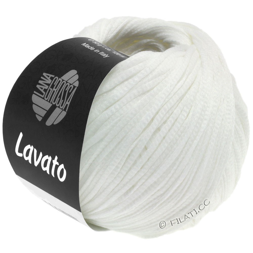 LAVATO - von Lana Grossa | 08-Weiß