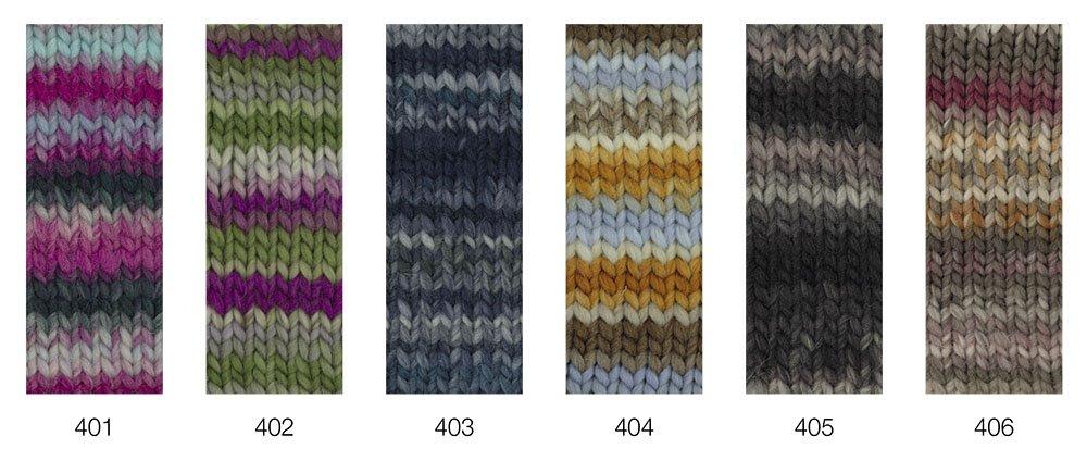 LEI Tweed Color (Ragazza) von Lana Grossa
