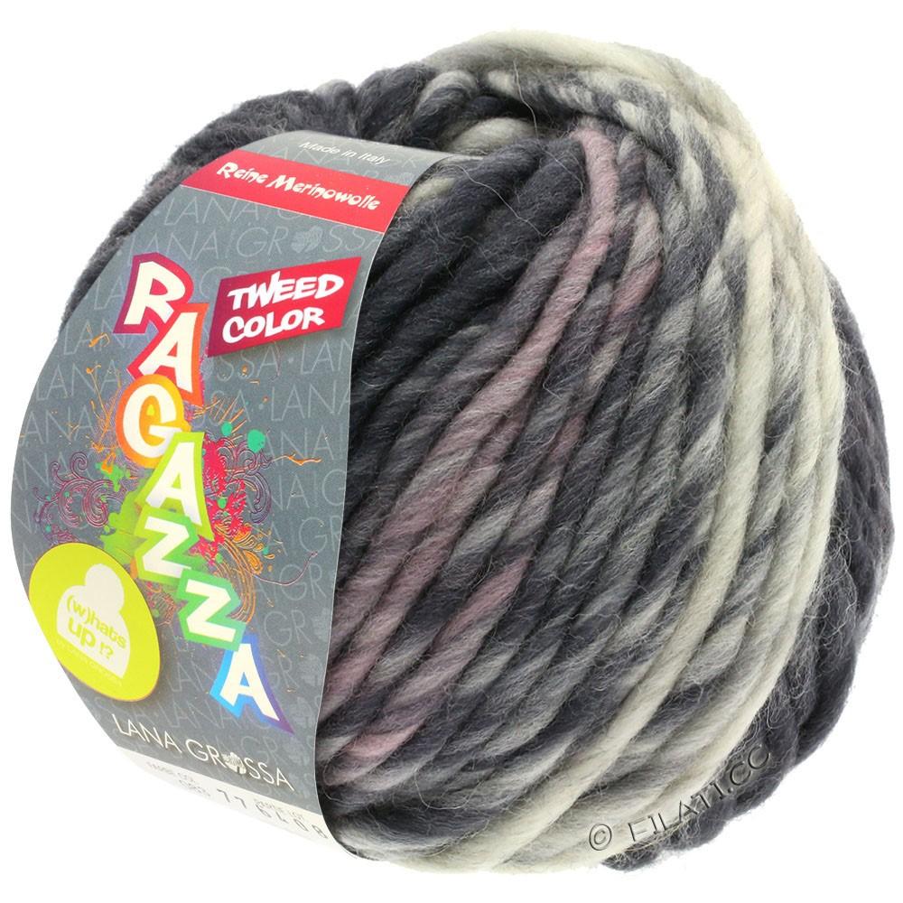LEI Tweed Color - von Lana Grossa | 405-Hellgrau/Mittelgrau/Dunkelgrau meliert