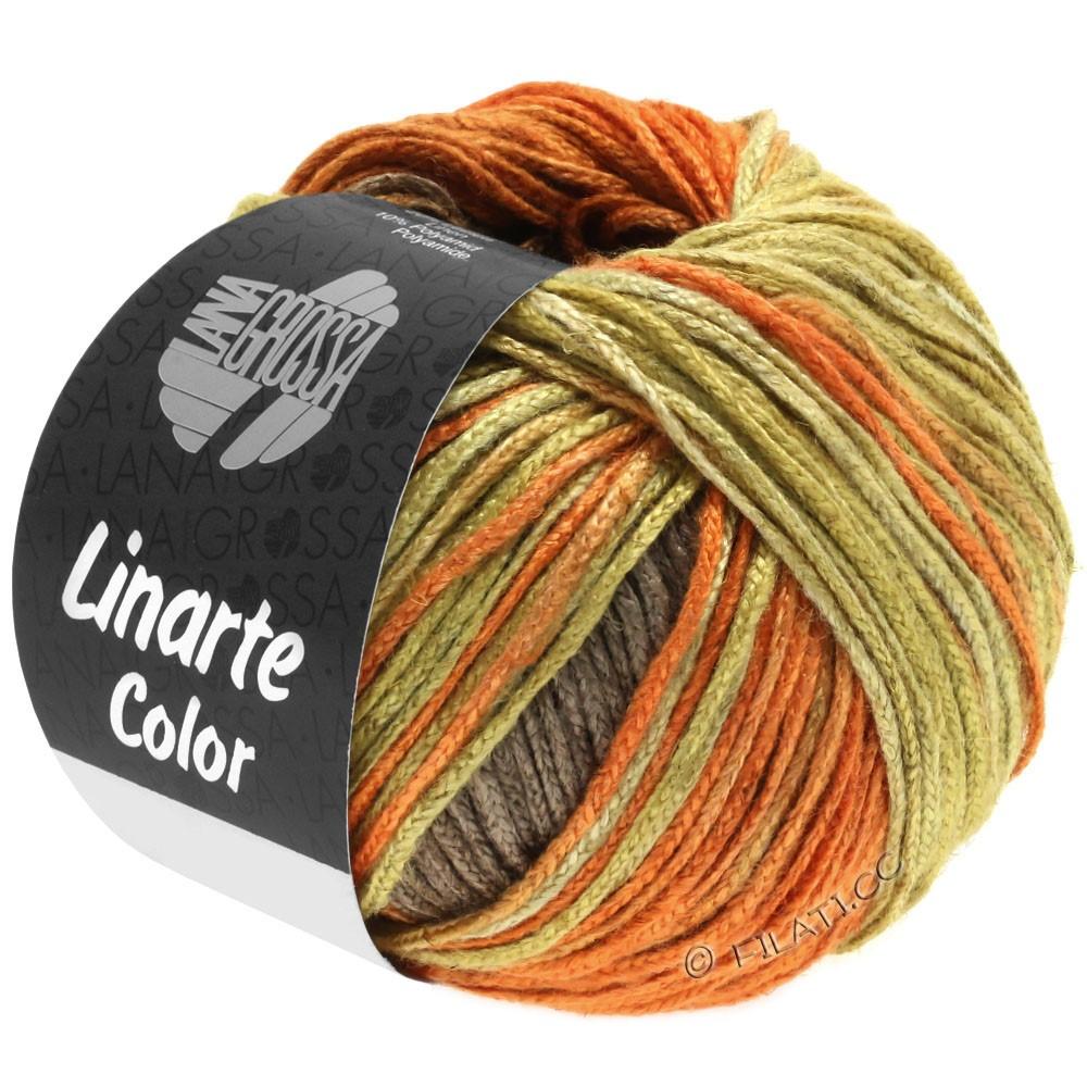 LINARTE Color - von Lana Grossa | 203-Olivgelb/Signalorange/Kupferbraun/Graubraun