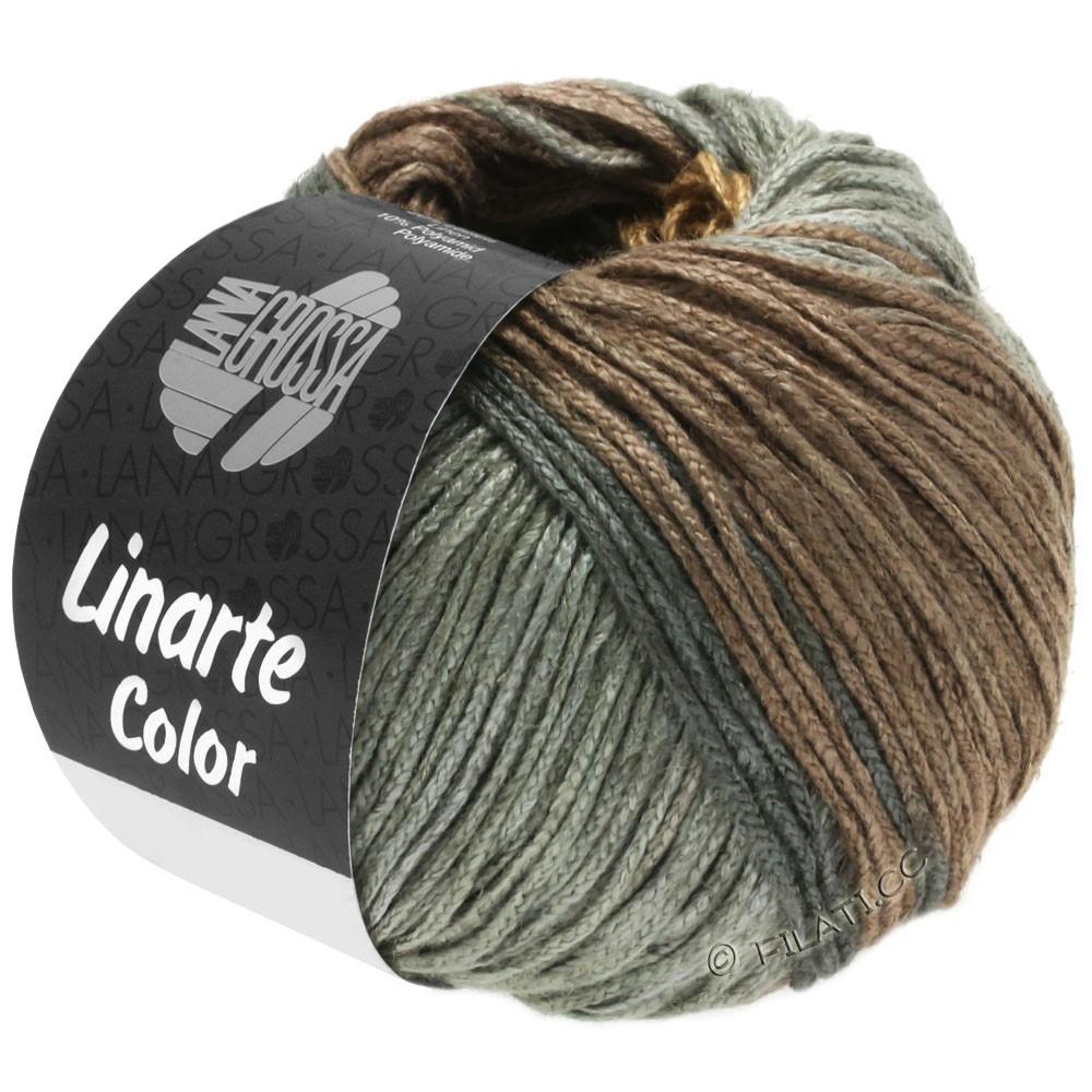 LINARTE Color - von Lana Grossa | 202-Olivbraun/Mahagonibraun/Umbragrau/Graphitgrau