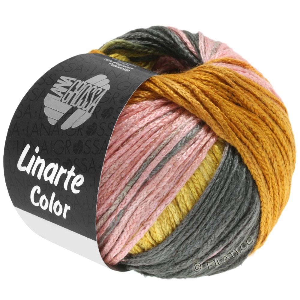 LINARTE Color - von Lana Grossa   210-Ginstergelb/Gold/Pfirsich/Khaki