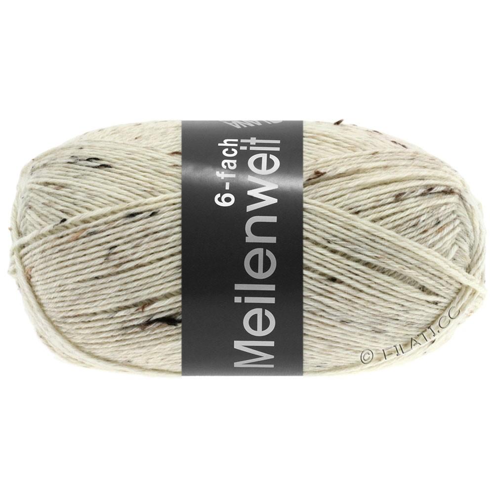 MEILENWEIT 6-FACH 150g Print/Tweed - von Lana Grossa | 8817-Natur meliert