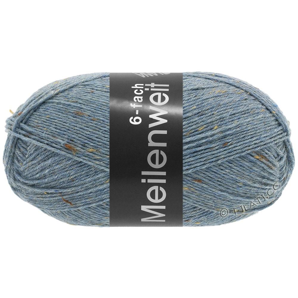 MEILENWEIT 6-FACH 150g Print/Tweed - von Lana Grossa | 9227-Jeansblau meliert