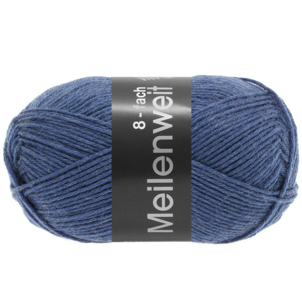 MEILENWEIT 8-FACH 100g Uni - von Lana Grossa | 9614-Jeans