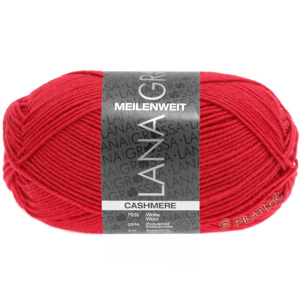 MEILENWEIT 50g Cashmere - von Lana Grossa | 06-Rot