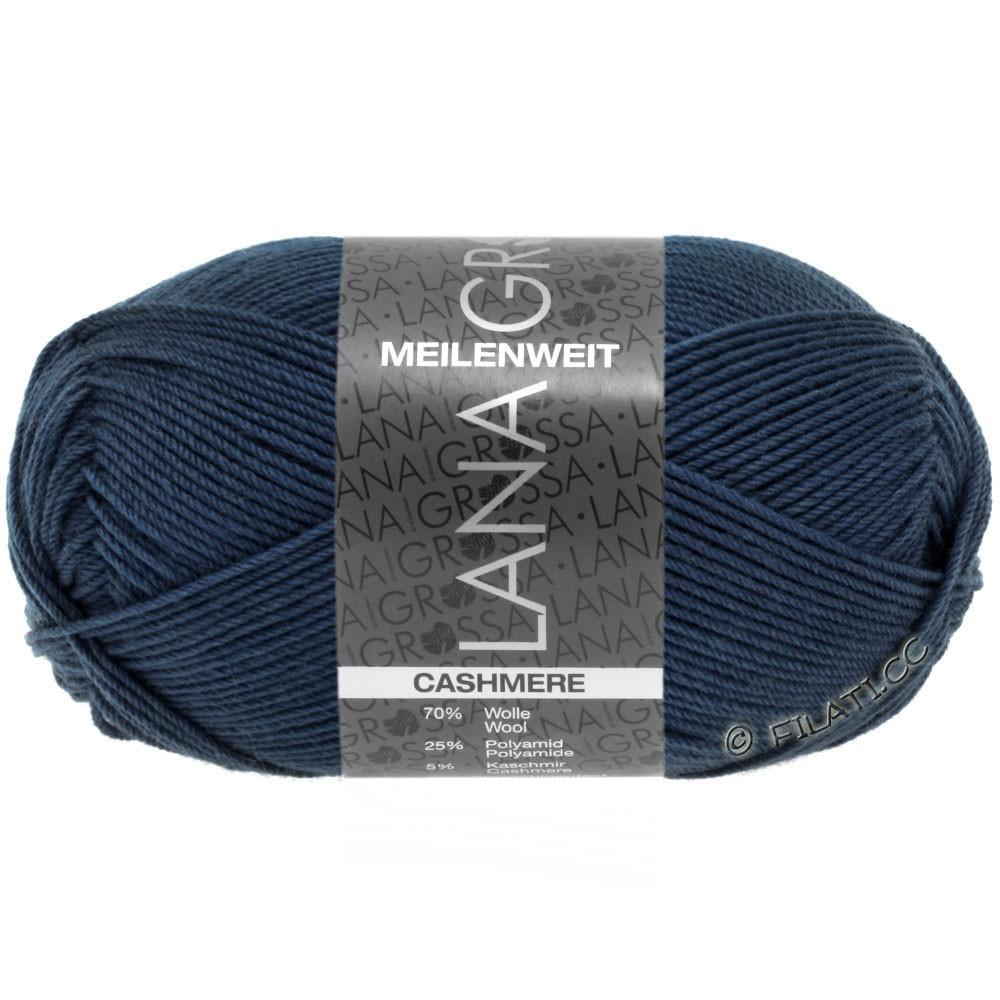 MEILENWEIT 50g Cashmere - von Lana Grossa | 09-Nachtblau