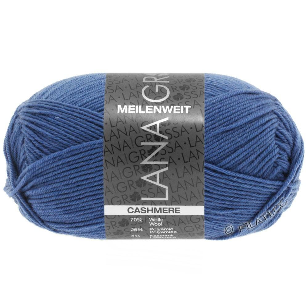 MEILENWEIT 50g Cashmere - von Lana Grossa | 16-Brillantblau