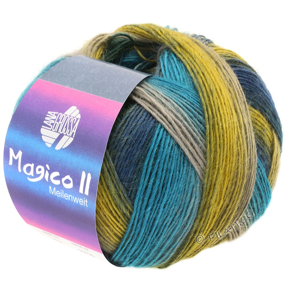 MEILENWEIT 100g Magico II - von Lana Grossa | 3534-