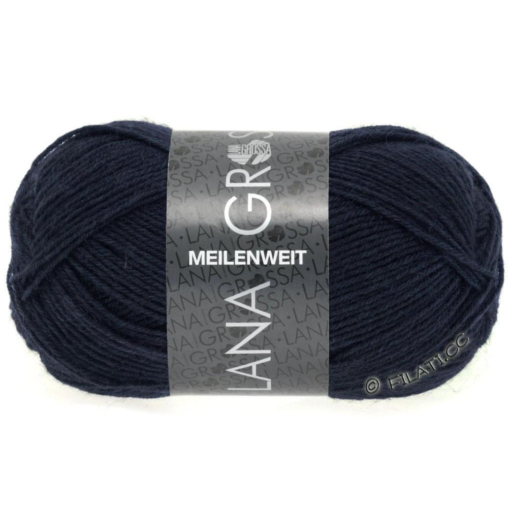 MEILENWEIT 50g Uni - von Lana Grossa | 1141-Nachtblau