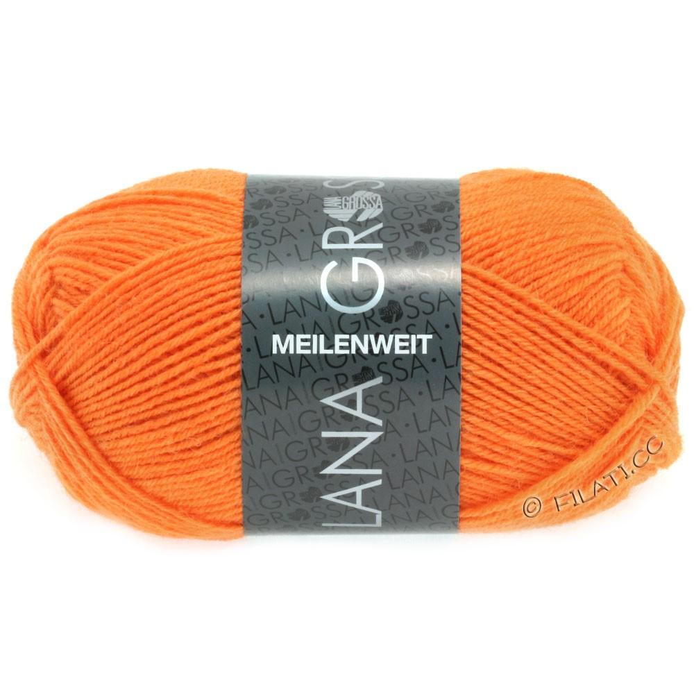 MEILENWEIT 50g Uni - von Lana Grossa | 1282-Orange