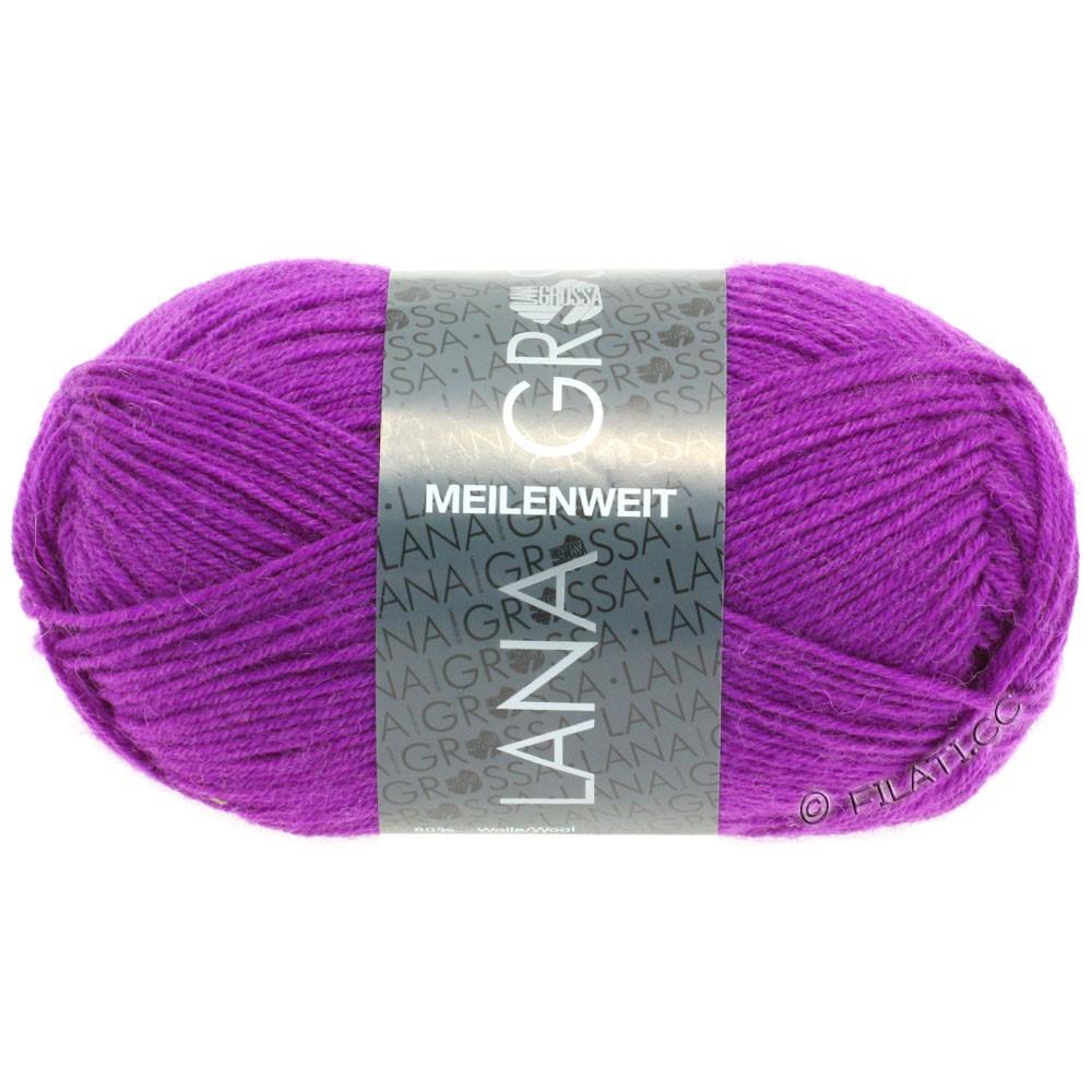 MEILENWEIT 50g Uni - von Lana Grossa | 1361-Violett