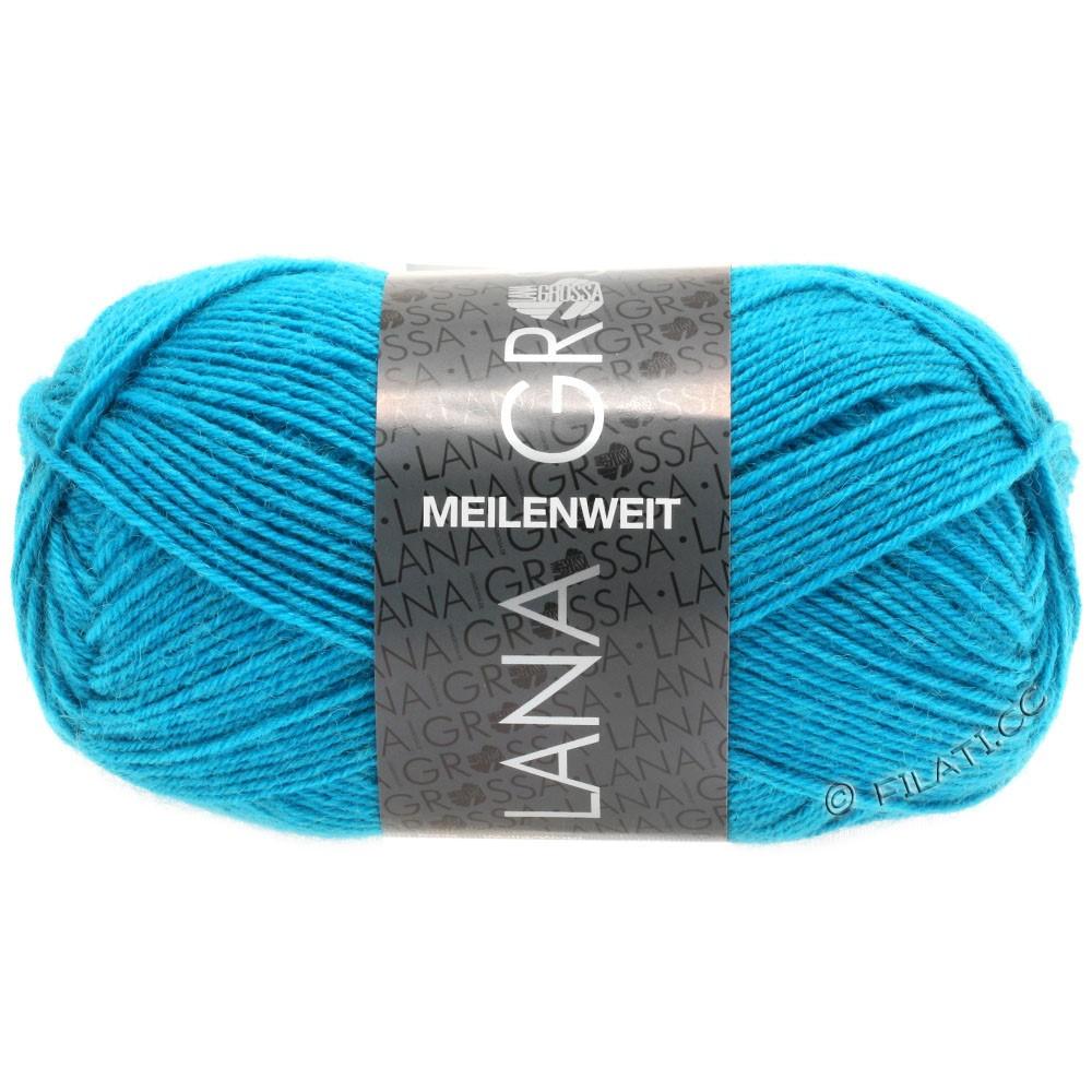 MEILENWEIT 50g Uni - von Lana Grossa | 1366-Türkisblau