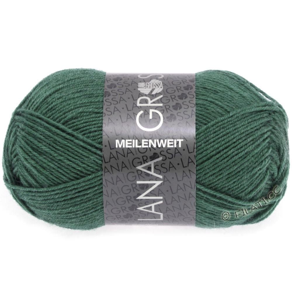 MEILENWEIT 50g Uni - von Lana Grossa | 1368-Dunkles Seegrün