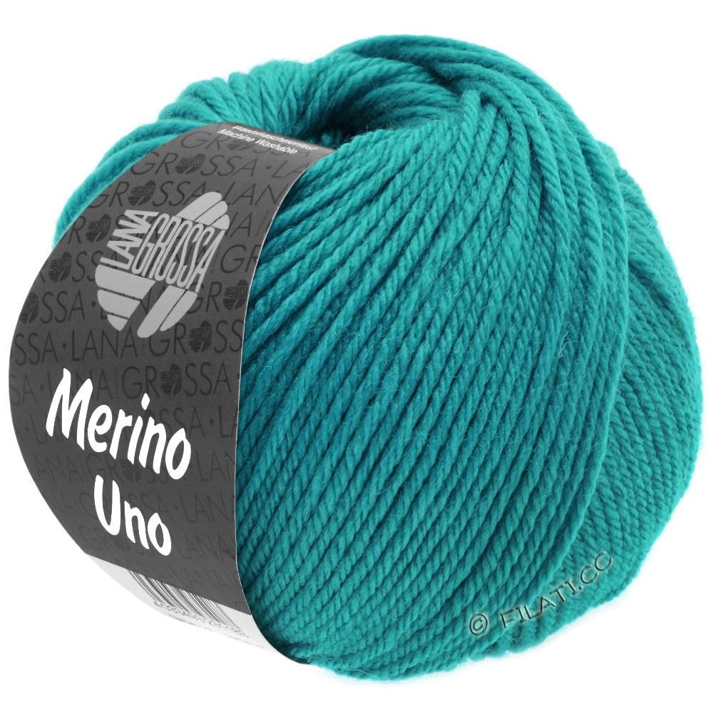 MERINO UNO - von Lana Grossa | 07-Türkisblau